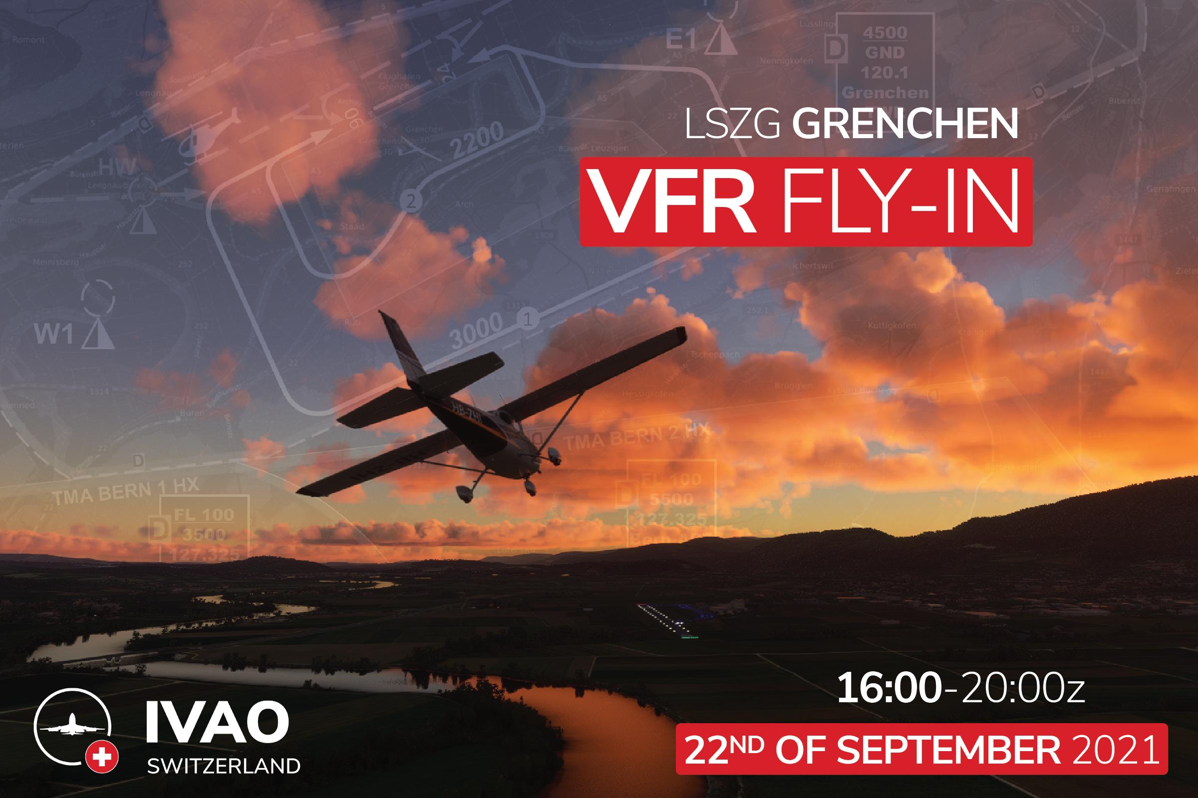 [CH] Grenchen VFR Fly-In